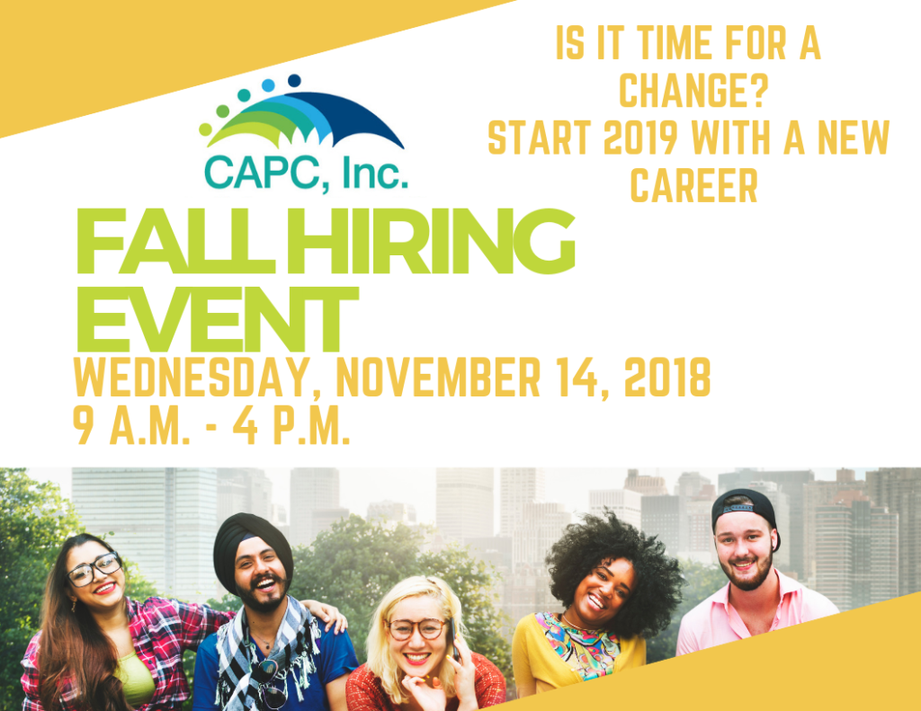Fall Hiring Event