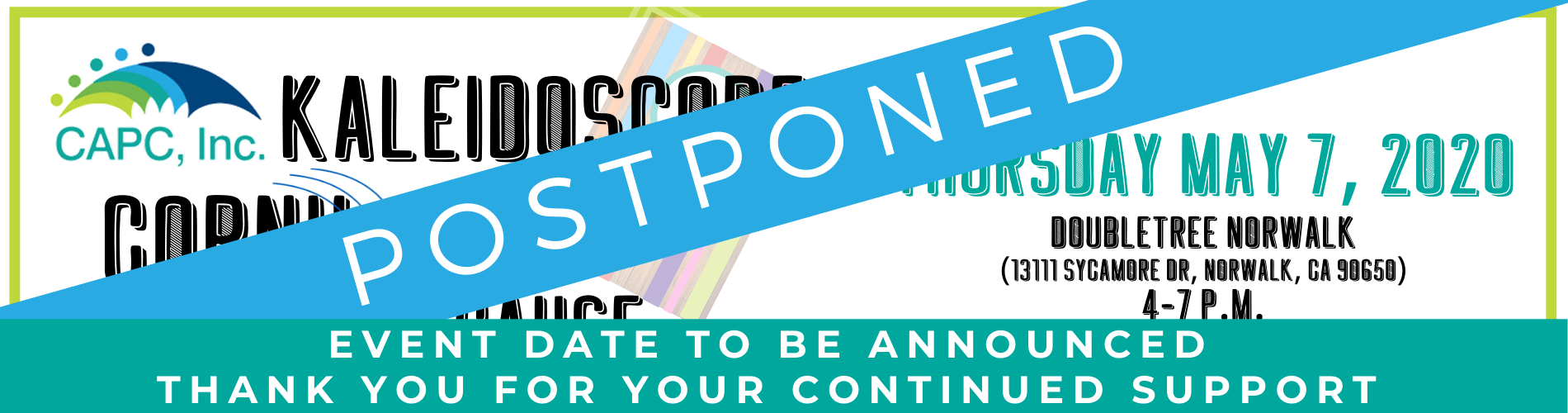 KALEIDOSCOPE 2020_Website Banner Postponed